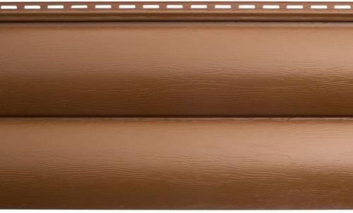 Акриловый сайдинг «Блок-хаус» Дуб светлый BH-02 - 3,10м