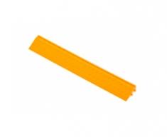 Боковой элемент обрамления с пазами под замки, цвет Жёлтый