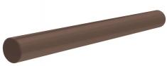 Труба для водосточной системы 3 м Стандарт (цвет коричневый)